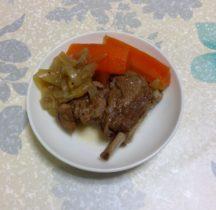 豚スペアリブのスパイス煮
